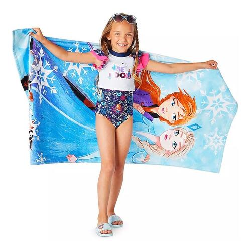 toalla para playa frozen 2, anna y elsa frozen disney store