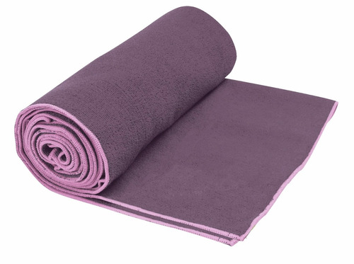 toalla para yoga absorbente gaiam thristy towel morada