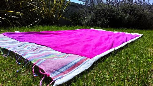 toalla pareo lona playera  90 x 1,70 manta algodón