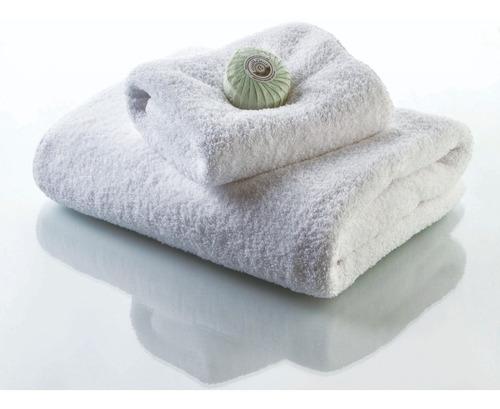 toalla peluquería blanca 50 x 70 cm 450 grs/m2 x 10 unidades
