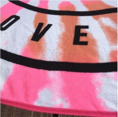 dc6ed2096b81a Toalla Playera Pink Yoga Ropa De Playa Salida De Baño Bikini ...