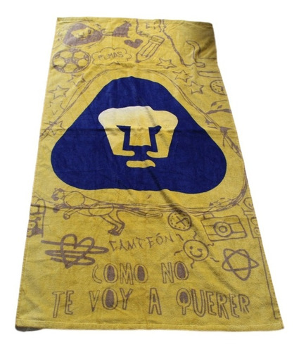 toalla pumas original excelente calidad
