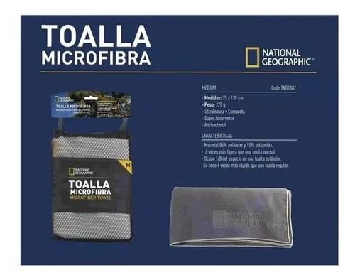 toalla secado rápido microfibra mediana nat geo 75 x 130 cm