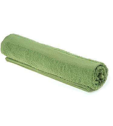 toalla semiplaya verde limón