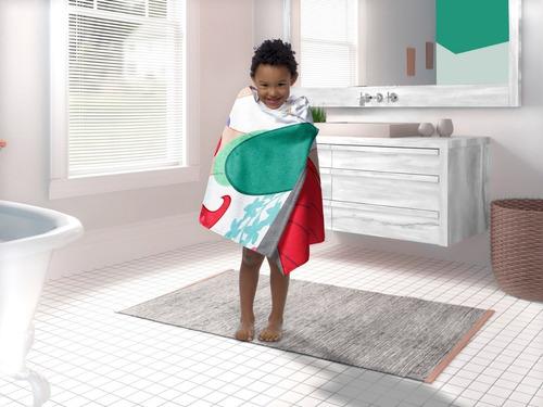 toalla sirenitra arielcapucha bata