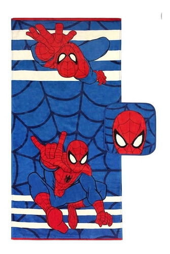 toalla spider-man set 2 piezas