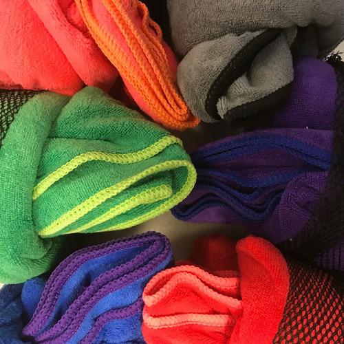 toalla toallón microfibra deporte secado rápido liviano