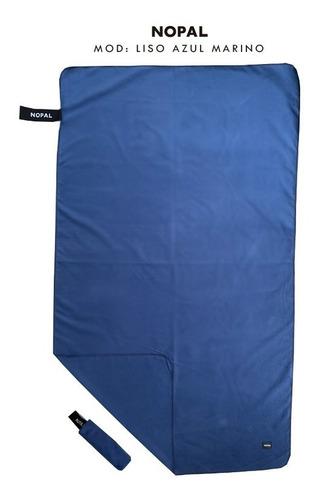 toalla toallon microfibra secado rapido nopal lisa 125x75cm
