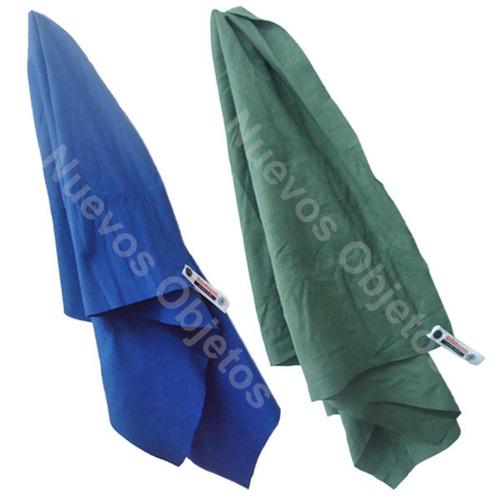 toalla ultra slim wakke compacta y absorvente secado rápido