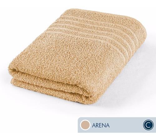toallas ama de casa classic baño 130x68cm arena