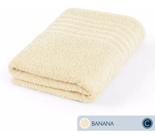 toallas ama de casa classic baño 130x68cm banana