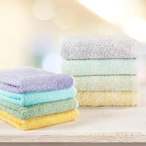 toallas ama de casa jaspeadas tamaño baño