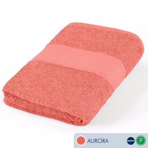 toallas ama de casa premium jumbo 175x89 cms  aurora coral