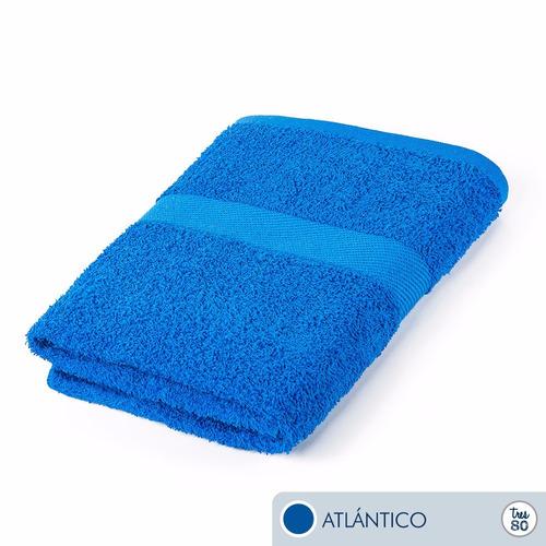 toallas ama de casa tres80 baño 120x68 cms atlántico