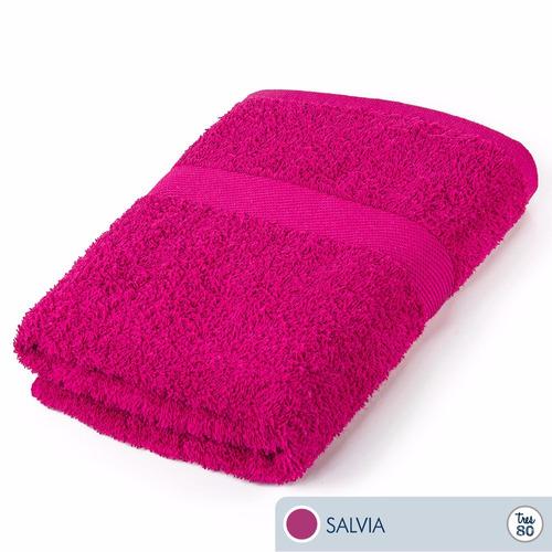 toallas ama de casa tres80 jumbo 160x90 cms salvia
