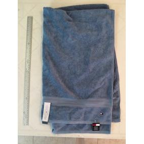e90c9b5342a6a Toalla Baño Tommy Hilfiger Azul 76 X 138 Algodon 100% Nueva