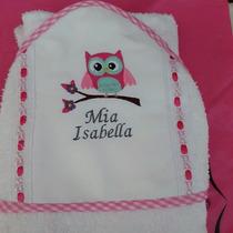 Toallas De Bebes Con Capucha Personalizadas