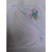 Toalla Con Capucha Para Bebe Baño Niño Niña Ropa Algodon 1