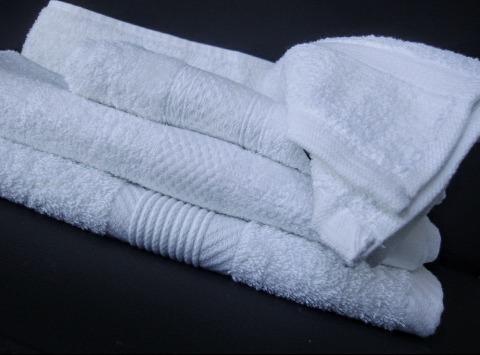 toallas blancas de mano 70x40 al mayor