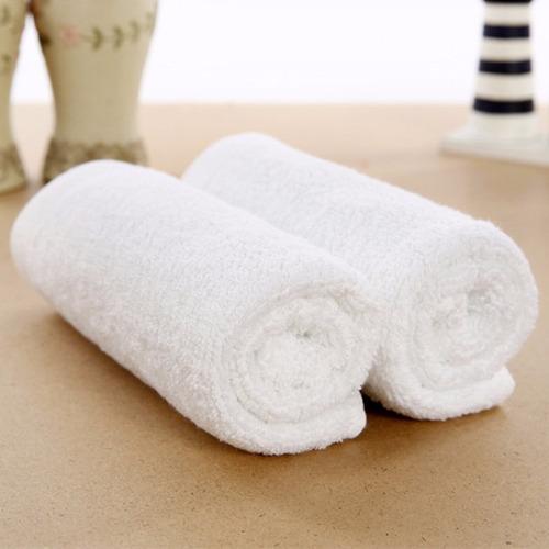 toallas blancas x24 100% alg. entrega gratis en caba