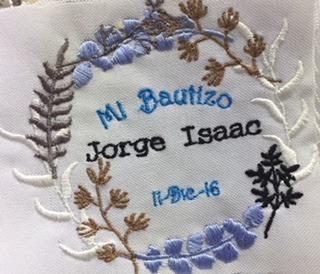 toallas bordadas baby shower bautizo comunion  xv años boda