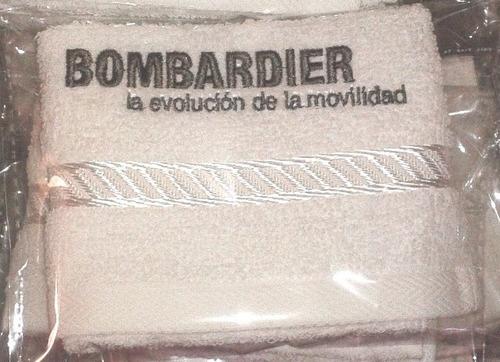 toallas bordadas con el logo de tu empresa
