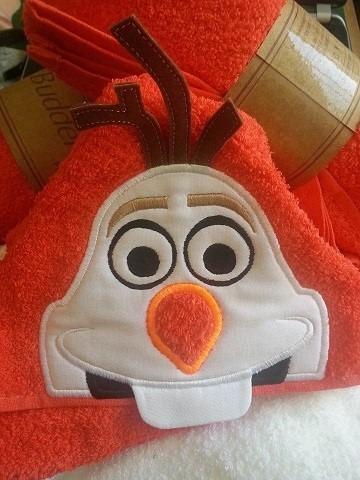 toallas con capuchas
