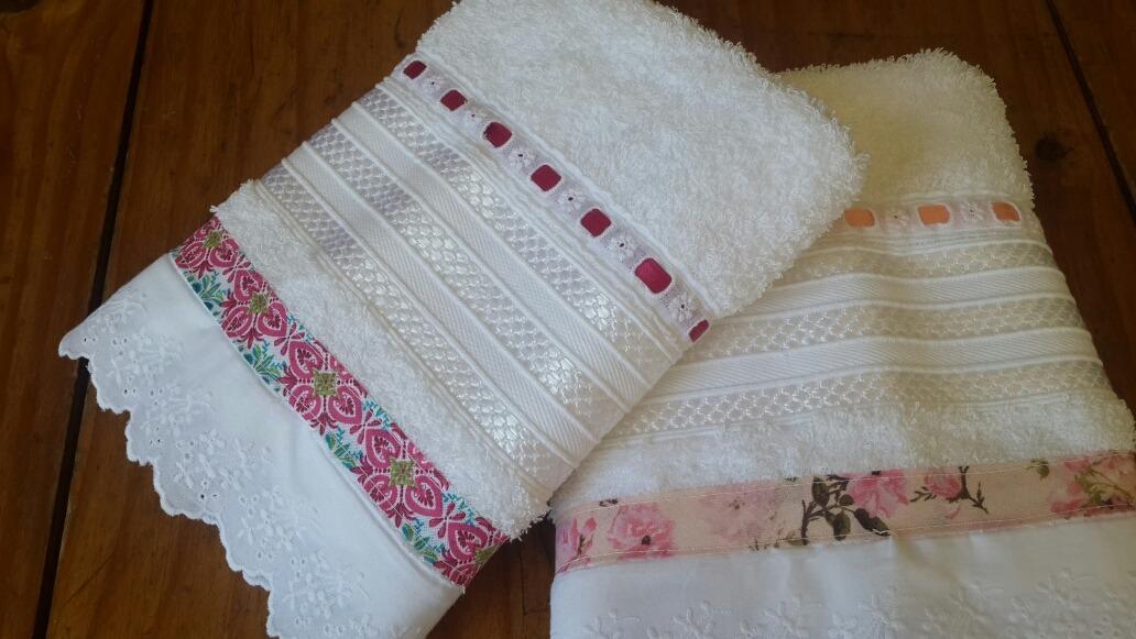 Toallas De Caramano Decoradas Varios Colores 25000 En Mercado - Decoracion-con-toallas