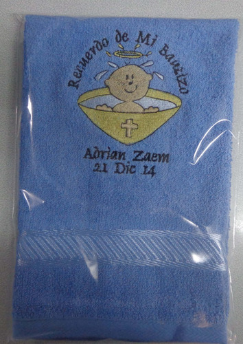 toallas de mano bordadas p/ recuerdo: boda, bautizo,xv años,