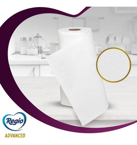 toallas de papel regio advanced 2 rollos