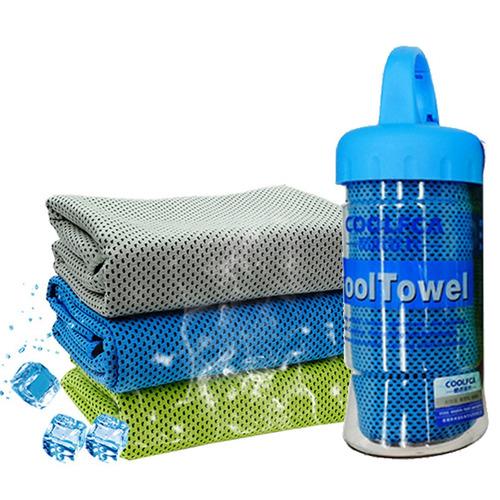 toallas deportivas refrescantes frías