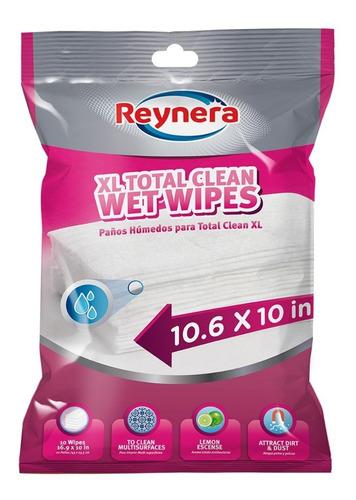 toallas desechables antibacteriales reynera xl total clean