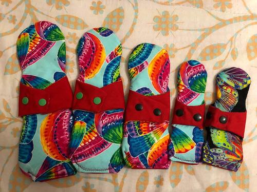 toallas ecológicas de tela (5 piezas)