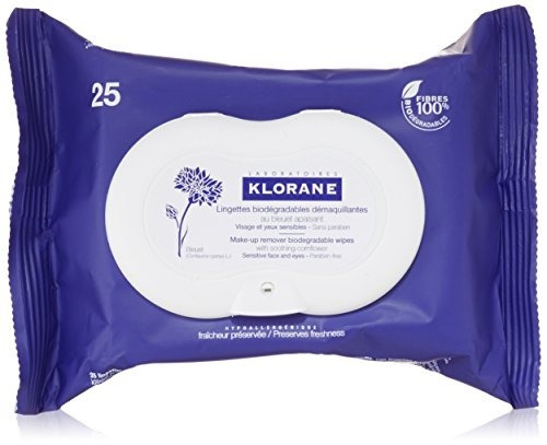 toallas húmedas  biodegradableklorane make-up