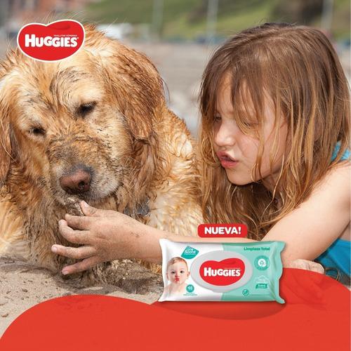 toallas humedas huggies limpieza total x184 refill pack x 3