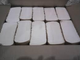 toallas intercaladas 20x24 para dispenser blancas por 2500un