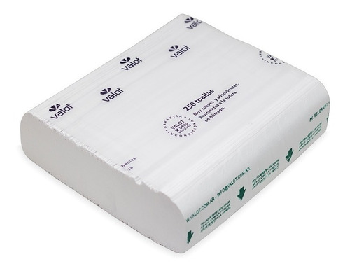 toallas intercaladas frane30 22 x 36 caja x 2500 hojas valot