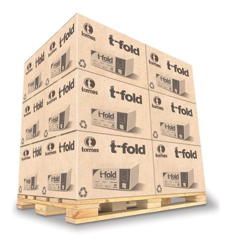 toallas p/ manos multifold t- fold (20 x 160 h) linea inst.