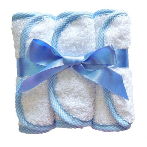 toallas para babitas m/m baby´s store-azul