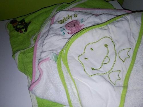 toallas para bebe con capuchita