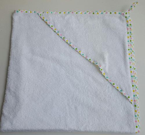 toallas para bebes ( 4 meses a 4 años)