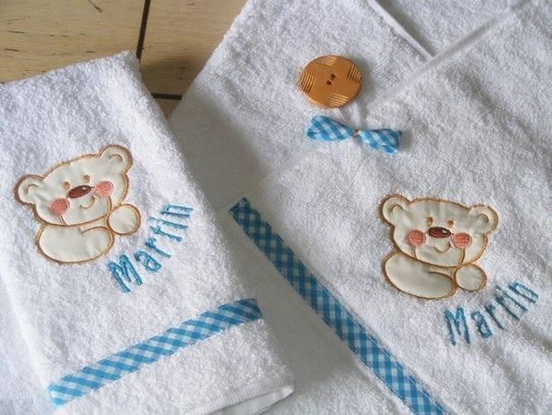 Toallas para bebes y ni os en mercado libre for Colgador de toalla para bano