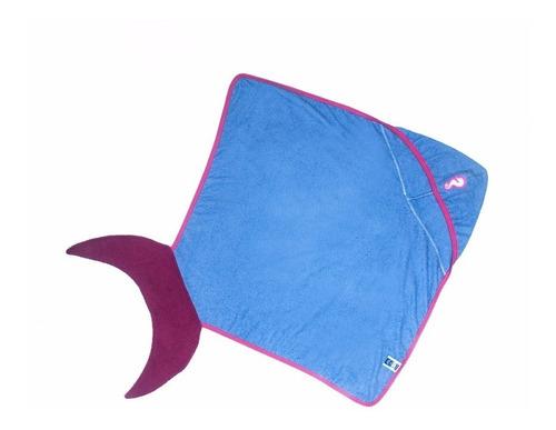 toallas para niñas cola de sirena. 3 a 8 años.