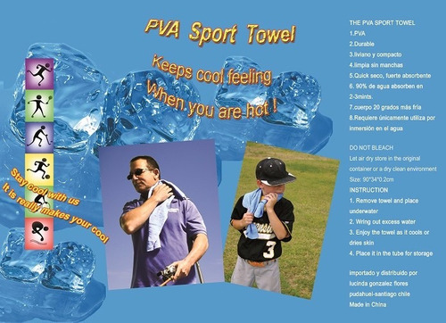 toallas pva para deportistas