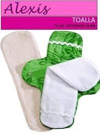 toallas sanitarias ecológicas de tela