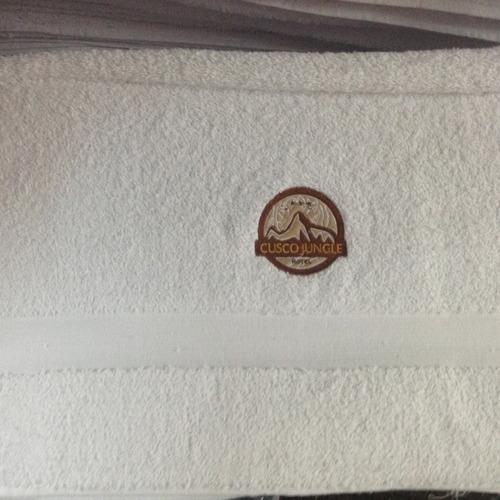 toallas spa sauna toallas hostales hospedajes - happy bath