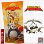 Toalla Infantil Grande Kungfu Panda - Disney