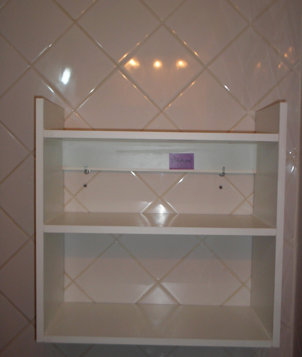 Toallero Accesorio, Mueble De Madera Para Baño Vanitory - $ 485,90 ...