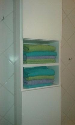 toallero de baño mueble en melamina en cuotas sin interes!