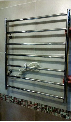 toallero electrico 60x70 atrim coco la plata acero inoxidabl